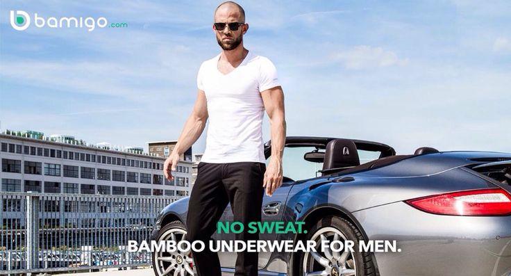 Bamigo bamboe heren onderkleding