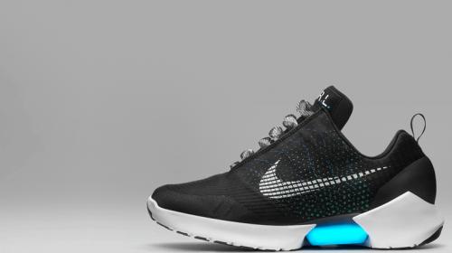 Zelfstrikkende schoen van Nike