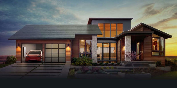 Tesla maakt dak van zonnepanelen